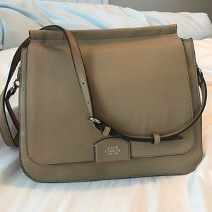 Vince Camuto Leather Messenger Bag